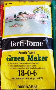 Green Maker Lawn Fertilizer