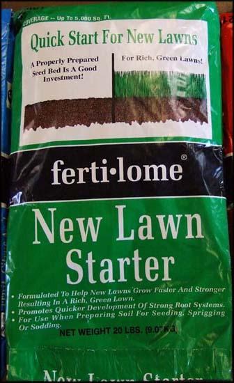 New Lawn Starter