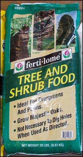 Tree & Shrub Food
